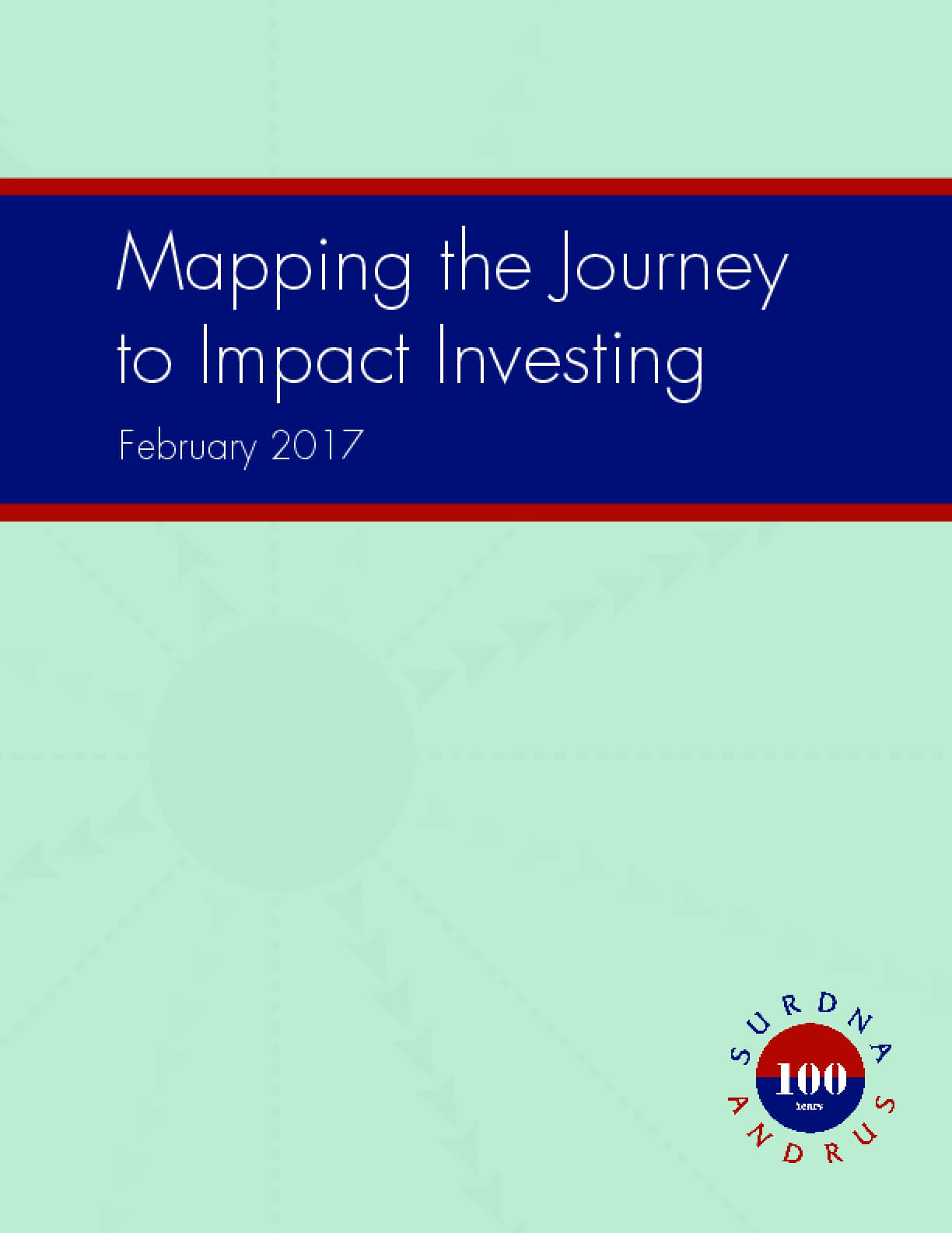 Mapping the Journey to Impact Investing