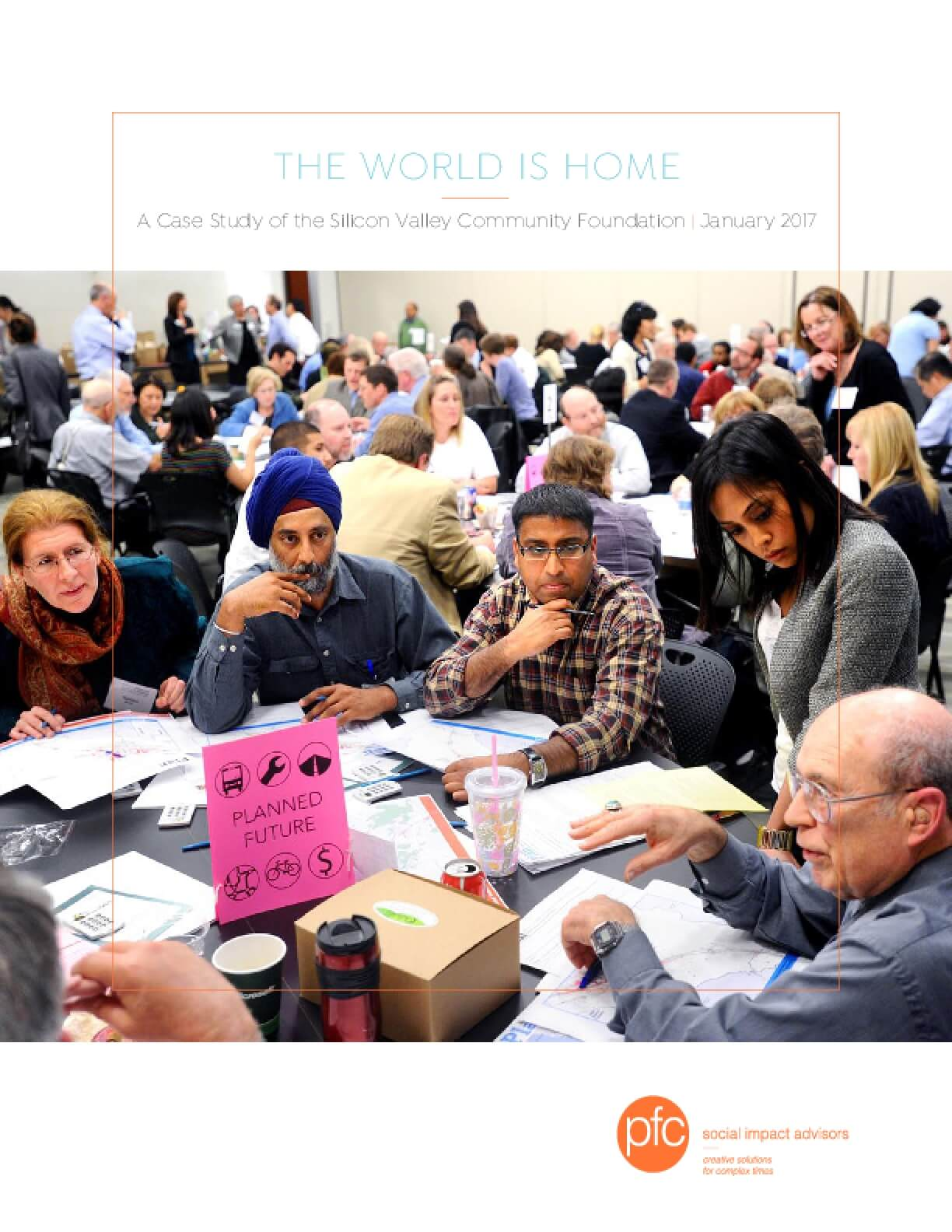 The World is Home: A Case Study of the Silicon Valley Community Foundation