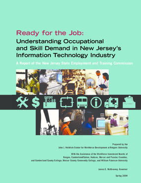 Understanding Occupational and Skill Demand in New Jersey's IT Industry