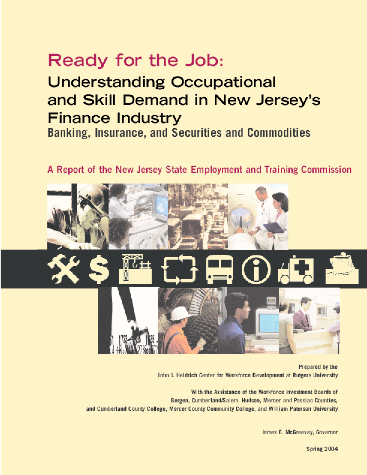 Understanding Occupational and Skill Demand in New Jersey's Finance Industry