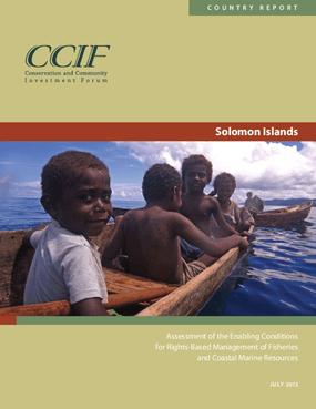 Solomon Islands Country Report