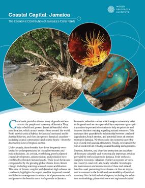 Coastal Capital: Jamaica. The Economic Contribution of Jamaica's Coral Reefs