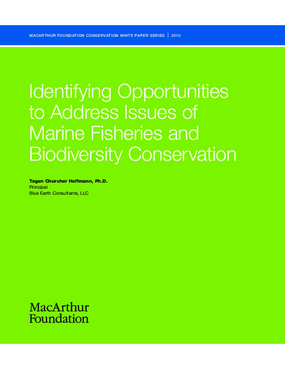 Identifying Opportunities to Address Issues of Marine Fisheries and Biodiversity Conservation