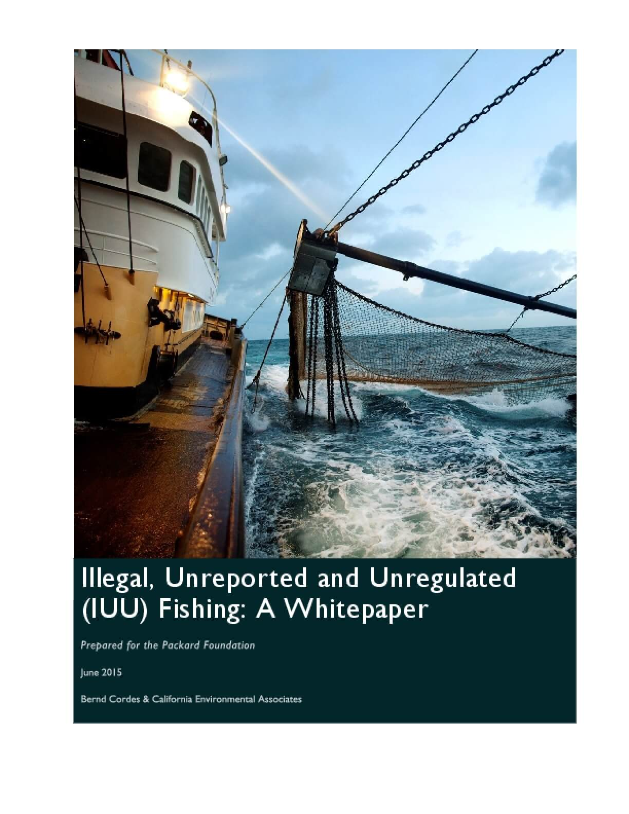 Illegal, Unreported and Unregulated (IUU) Fishing: A Whitepaper