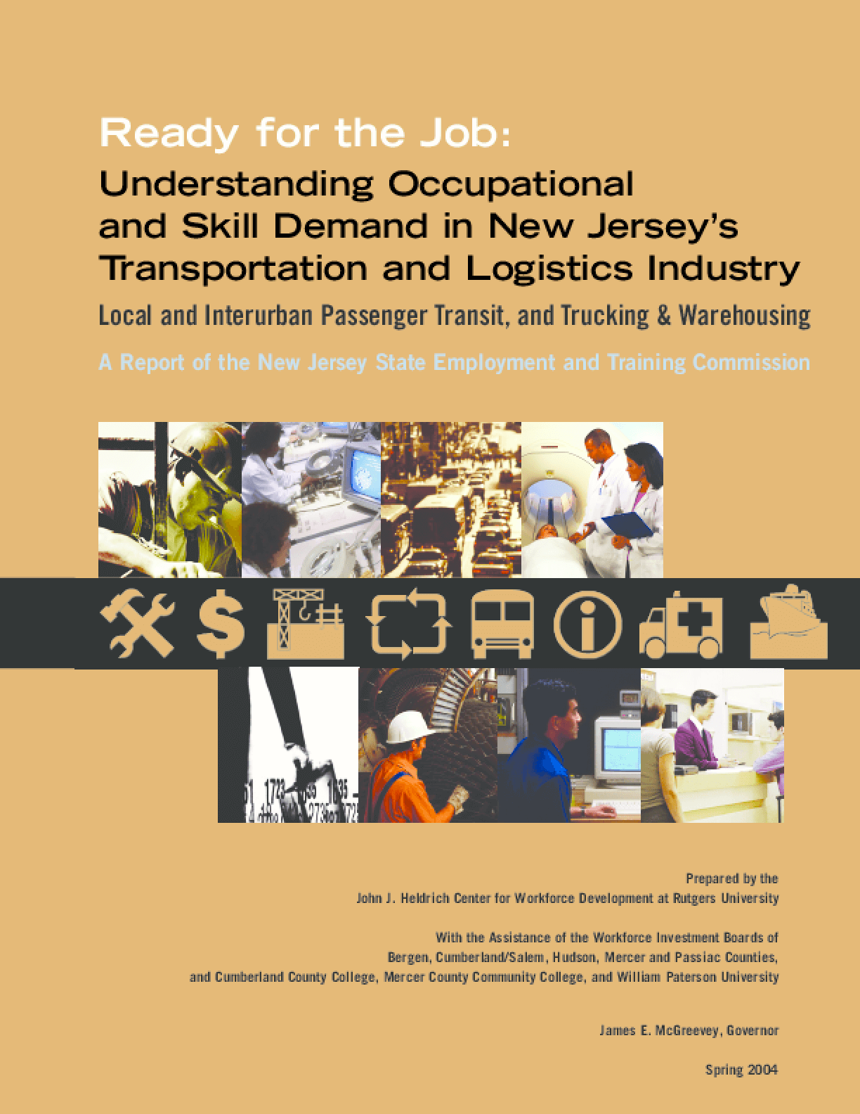 Understanding Occupational/Skill Demand in NJ's Transportation/Logistics Industry