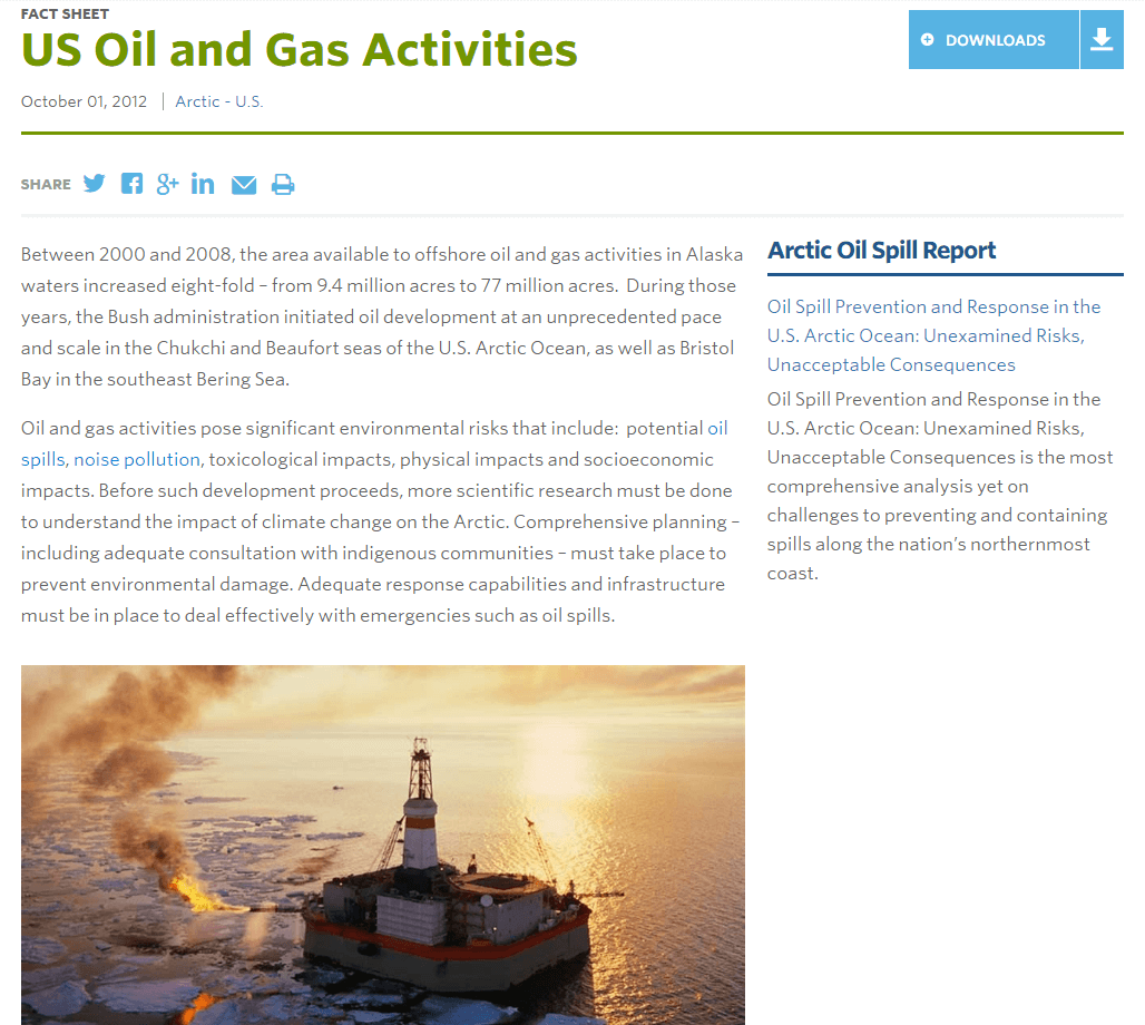 US Oil and Gas Activities