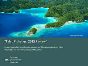 Palau Fisheries: 2015 Review