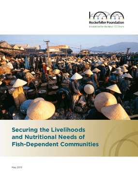 Securing the Livelihoods and Nutritional Needs of Fish-Dependent Communities