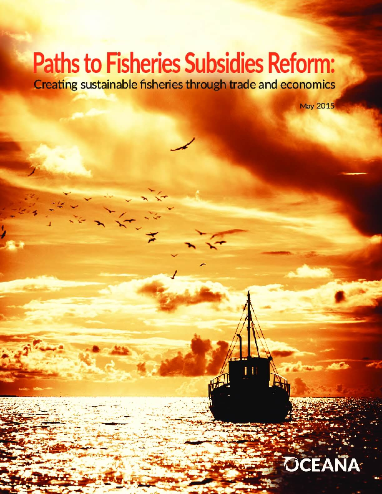 Paths to Fisheries Subsidies Reform: Creating Sustainable Fisheries Through Trade and Economics