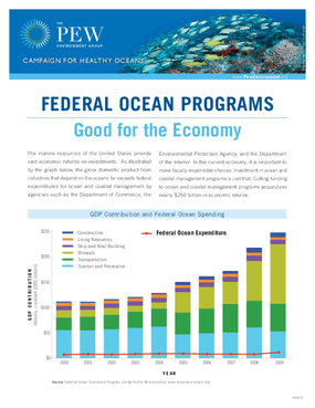 Federal Ocean Programs: Good for the Economy