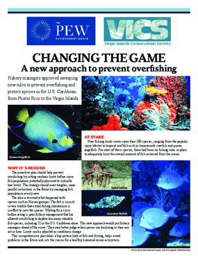 Changing the Game: A New Approach to Prevent Overfishing in the Caribbean