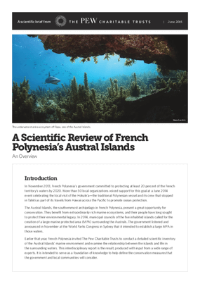 A Scientific Review of French Polynesia's Austral Islands: An Overview