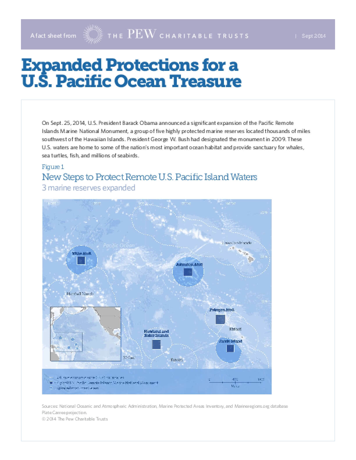 Expanded Protections for a U.S. Pacific Ocean Treasure