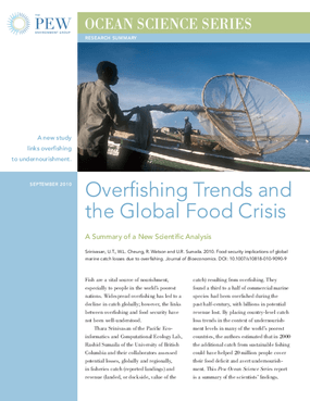 Overfishing Trends and the Global Food Crisis
