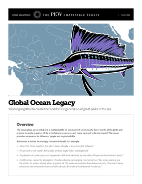 Global Ocean Legacy Working Together to Create the World's First Generation of Great Parks in the Sea