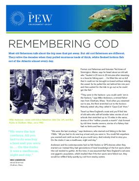 Remembering Cod