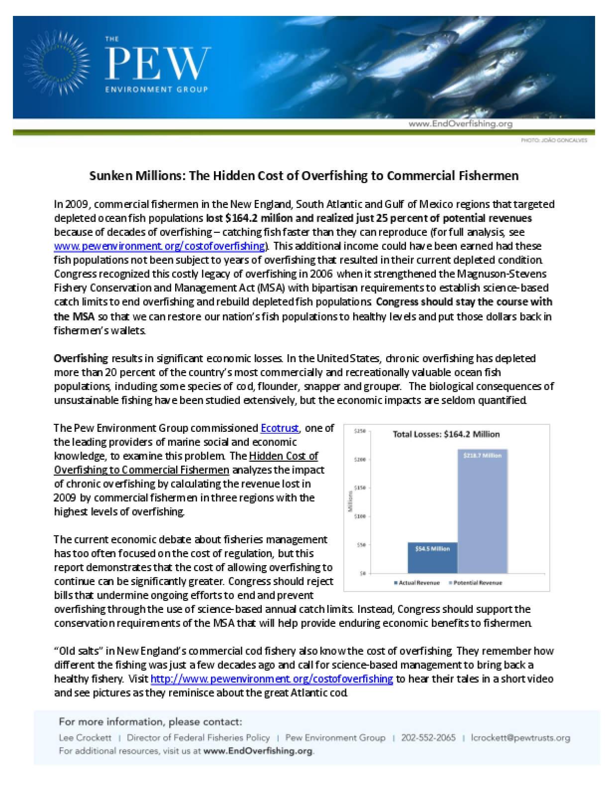 Sunken Millions: The Hidden Cost of Overfishing to Commercial Fishermen