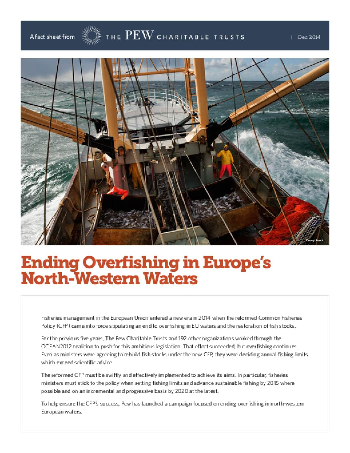 Ending Overfishing in Europe's North-Western Waters