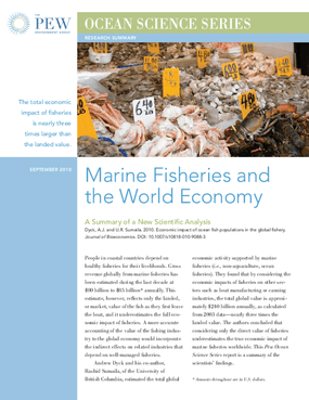 Marine Fisheries and the World Economy