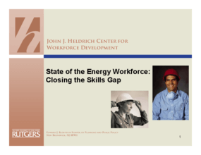 State of the Energy Workforce: Closing the Skills Gap