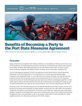 Benefits of Becoming a Party to the Port State Measures Agreement