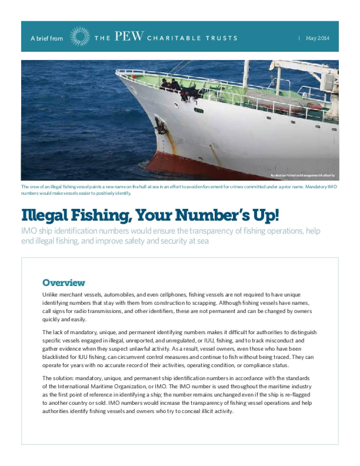Illegal Fishing, Your Number's Up!