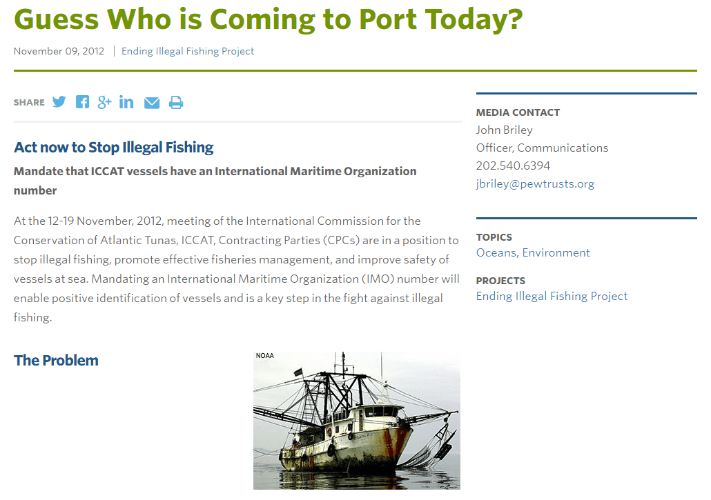 Guess Who is Coming to Port Today?