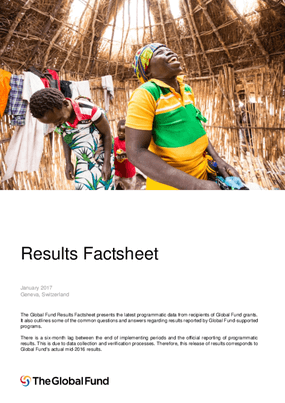 The Global Fund: Results Factsheet
