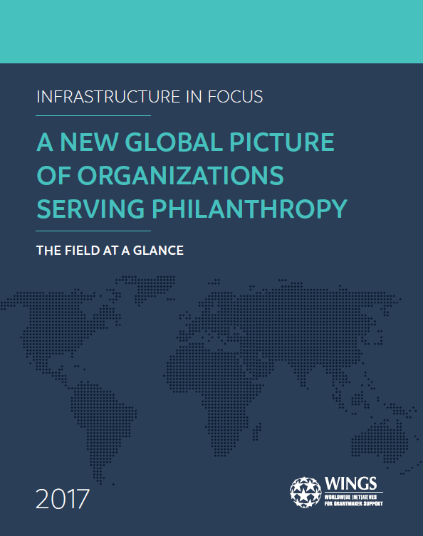 Infrastructure in Focus: A New Global Picture of Organizations Serving Philanthropy - The Field at a Glance (Fact Sheet)