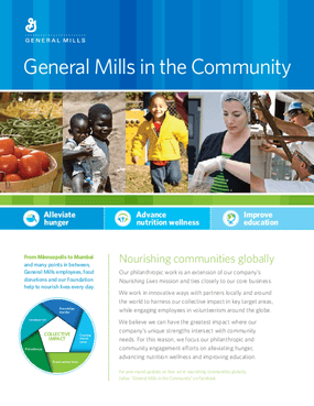 General Mills in the Community