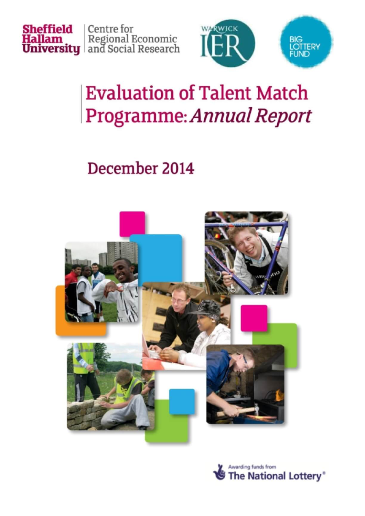 Evaluation of Talent Match Programme: Annual Report