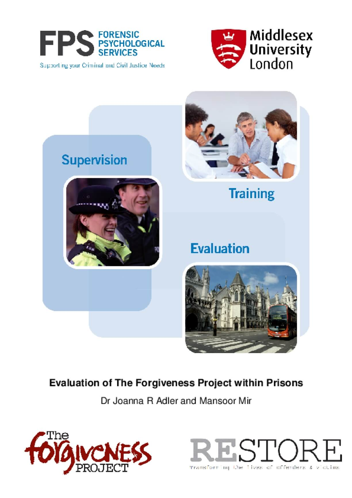 Evaluation of The Forgiveness Project within Prisons