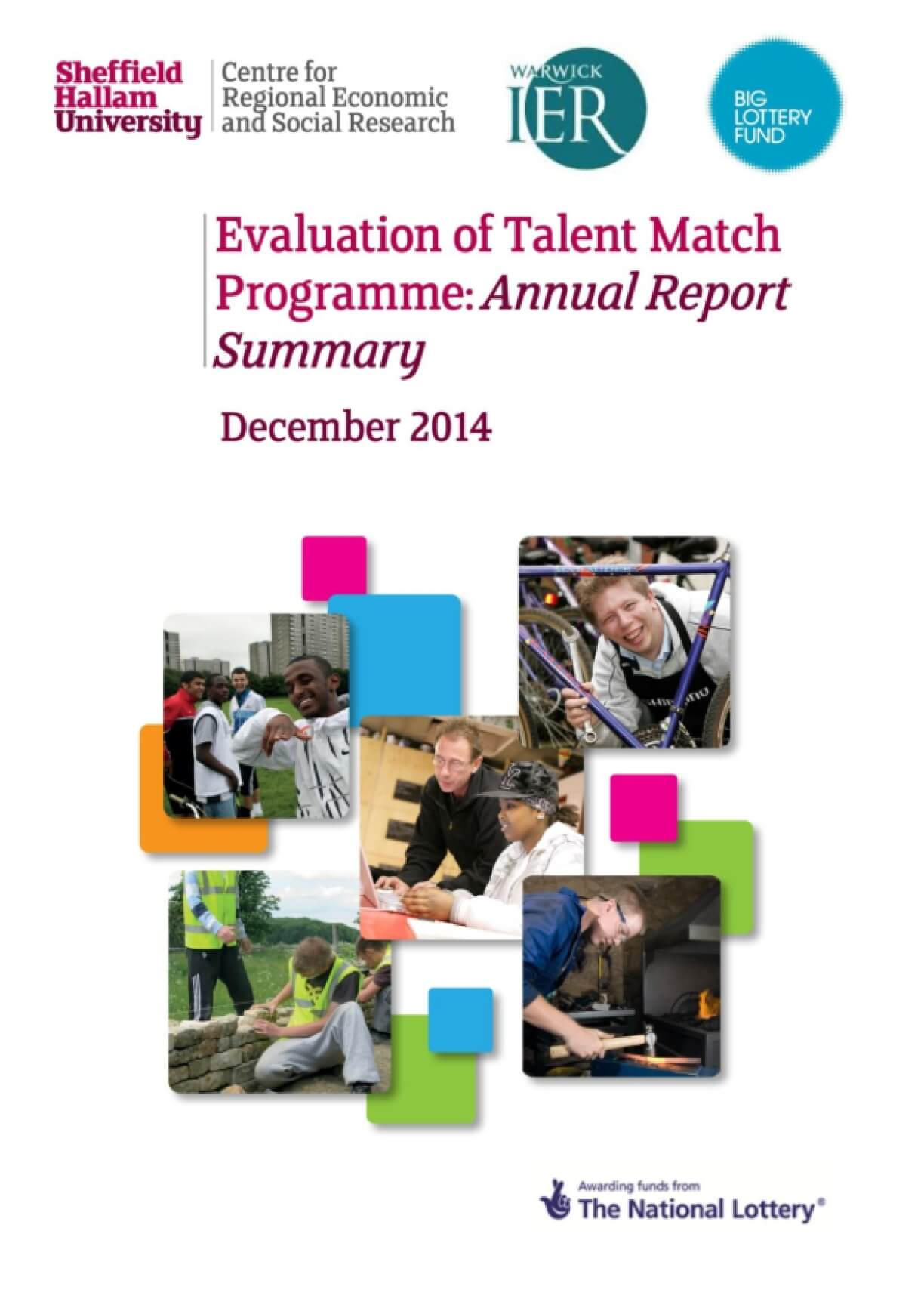 Evaluation of Talent Match Programme: Annual Report Summary