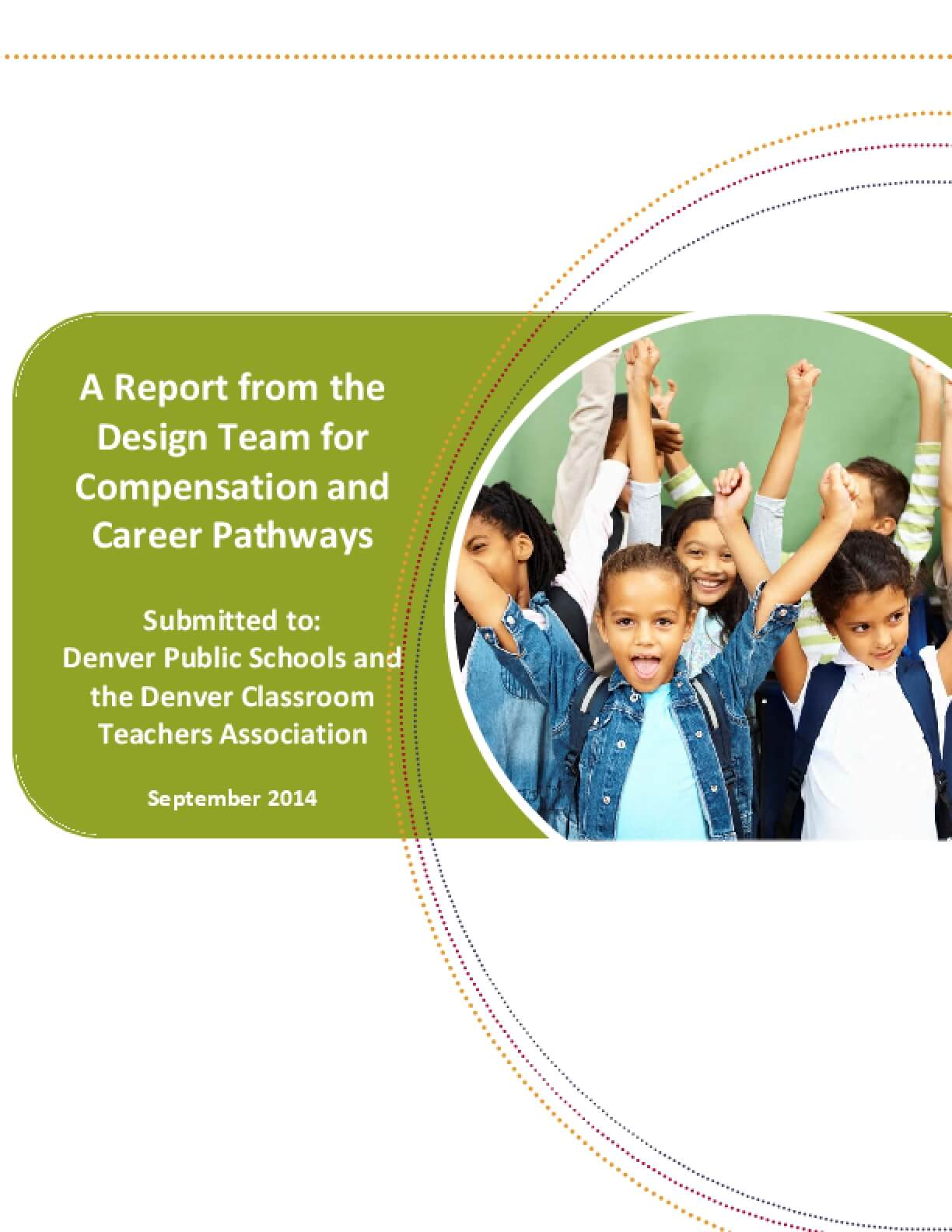 A Report from the Design Team for Compensation and Career Pathways