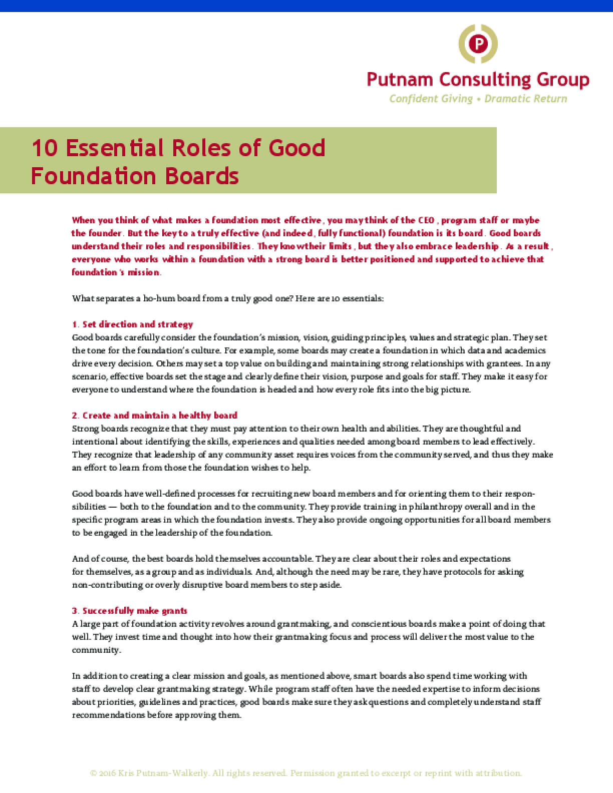 10 Essential Roles of Good Foundation Boards