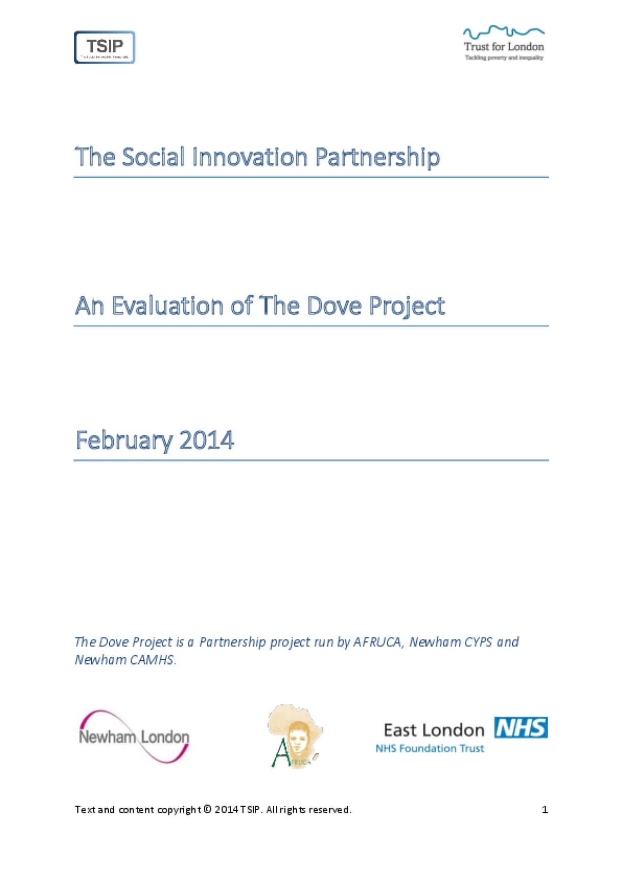 An Evaluation of The Dove Project