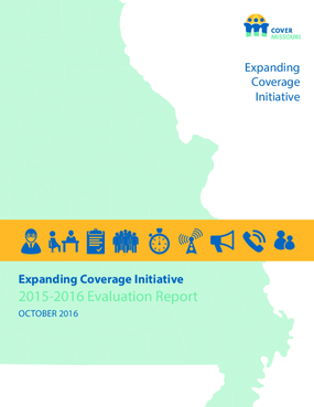 Expanding Coverage Initiative 2015-2016 Evaluation Report