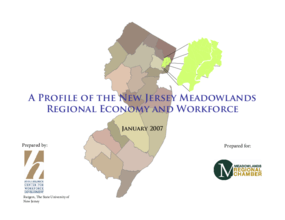 Profile of the Meadowlands Regional Economy and Workforce