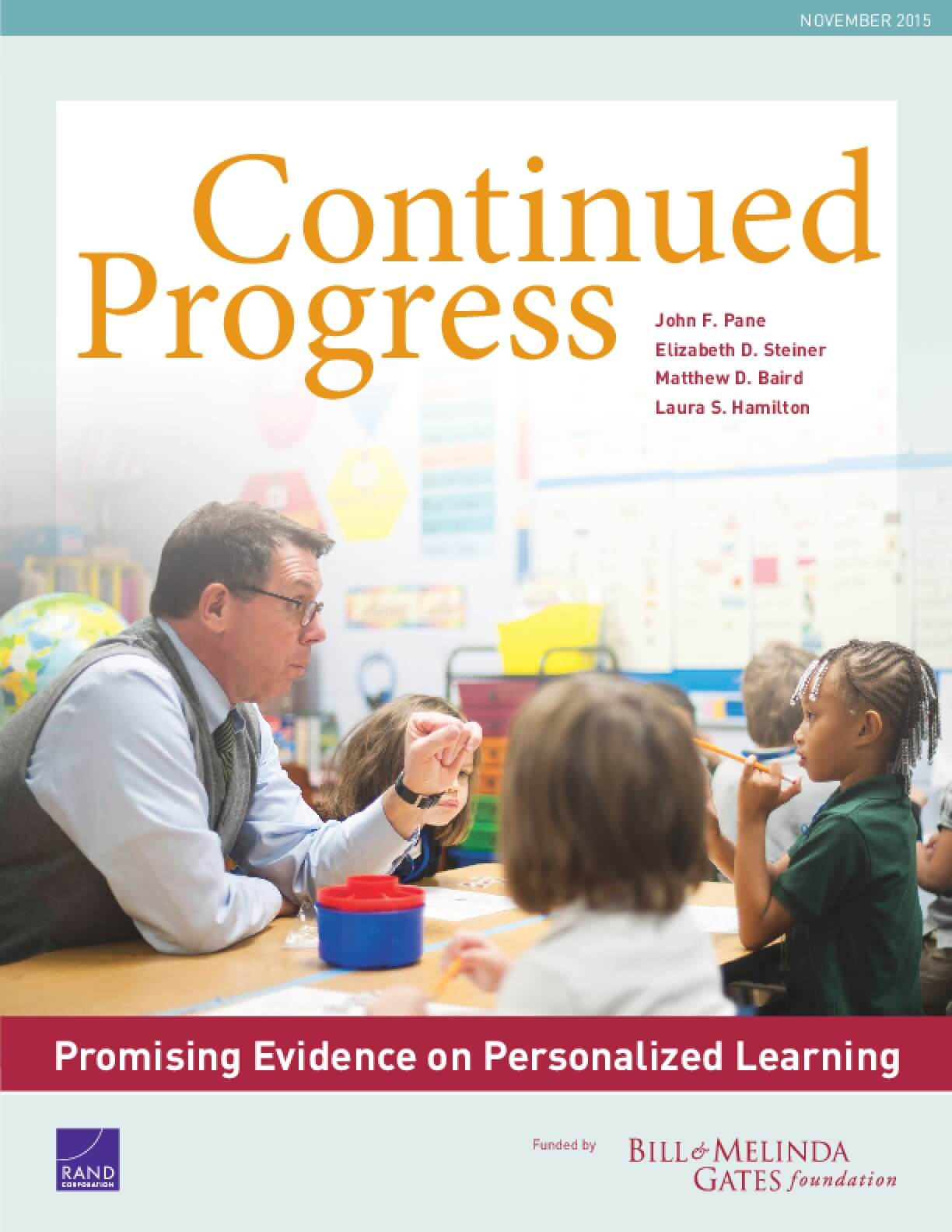 Continued Progress: Promising Evidence on Personalized Learning