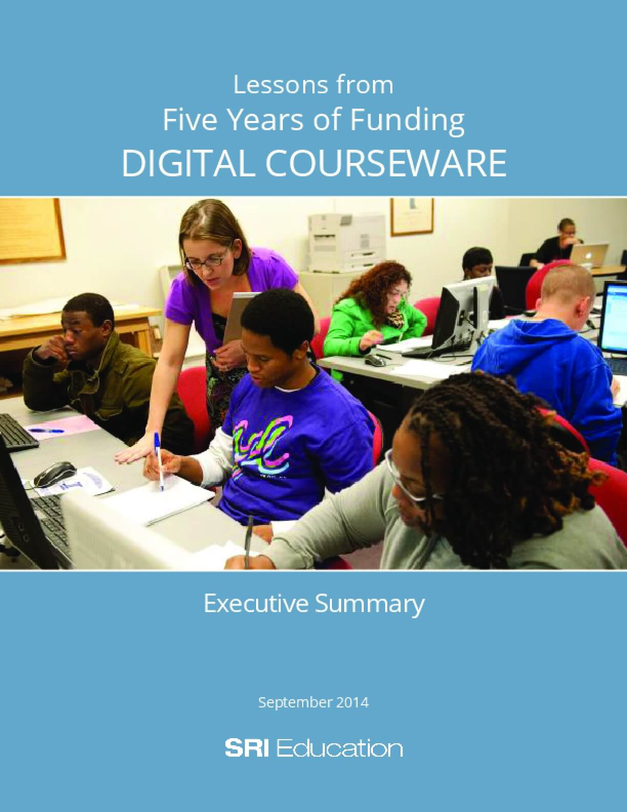 Lessons from Five Years of Funding Digital Coursework, Executive Summary