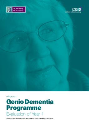 Genio Dementia Programme – Year 1