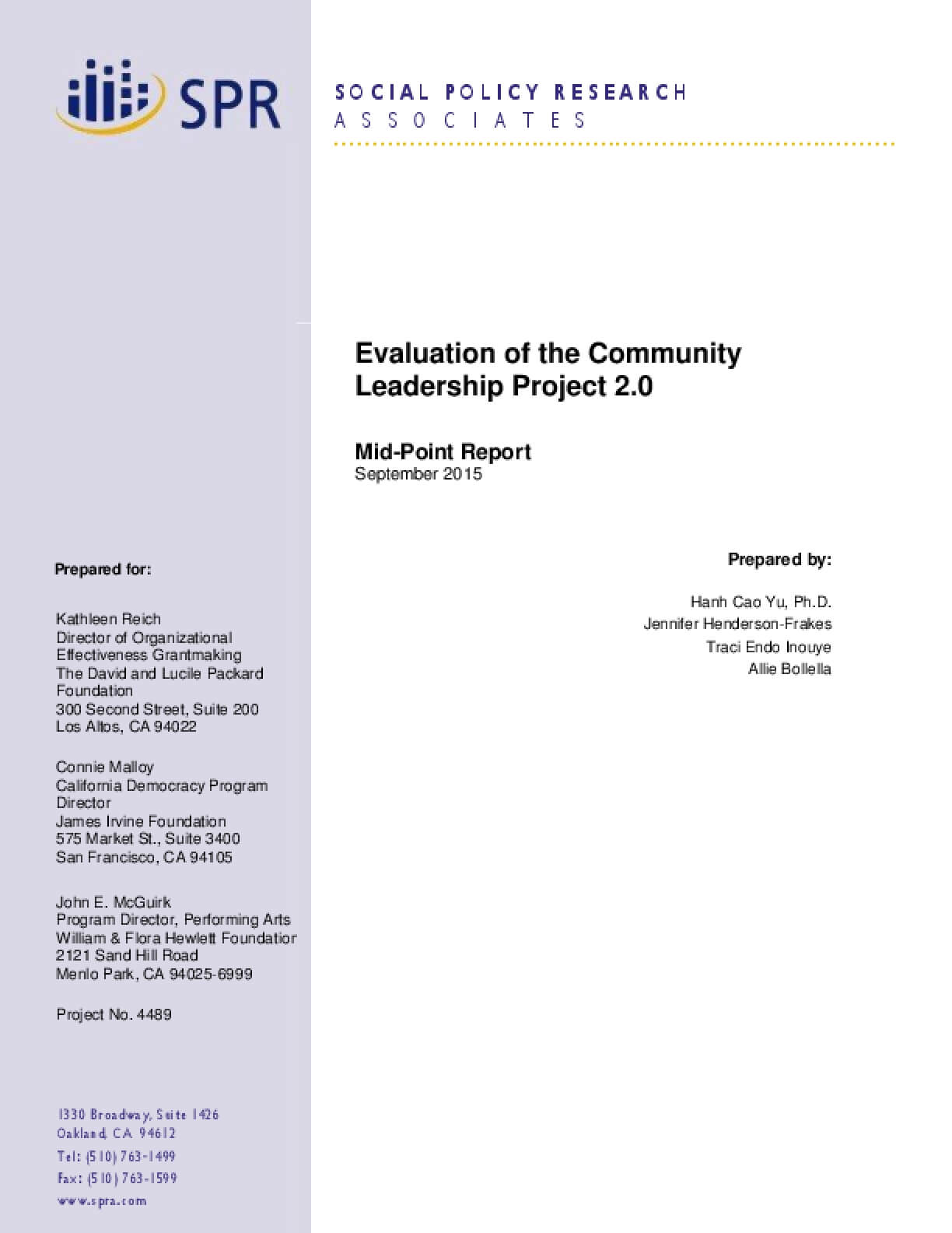 A research on community organization