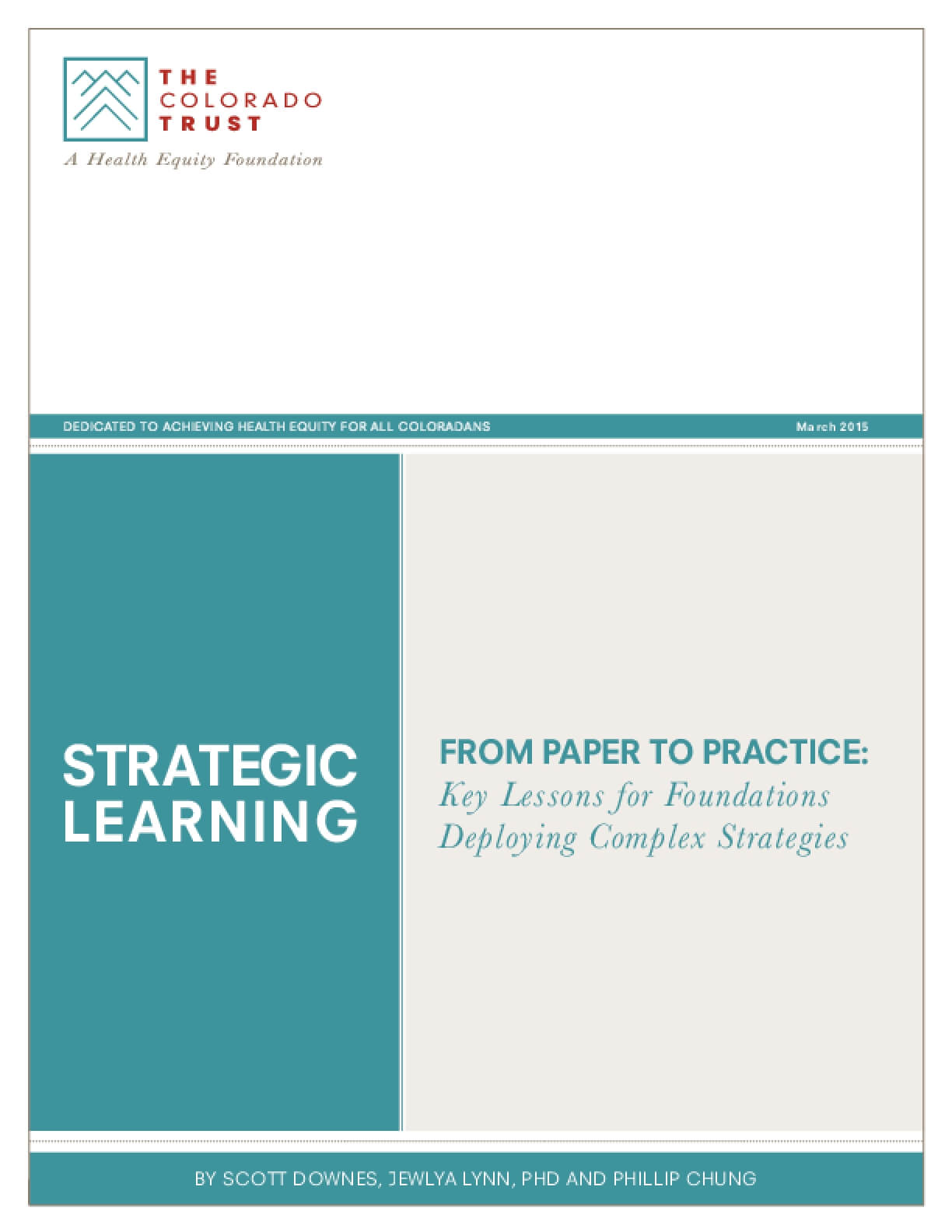 From Paper to Practice: Key Lessons for Foundations Deploying Complex Strategies