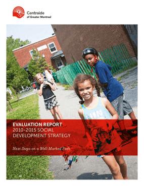 Evaluation Report: 2010-2015 Social Development Strategy