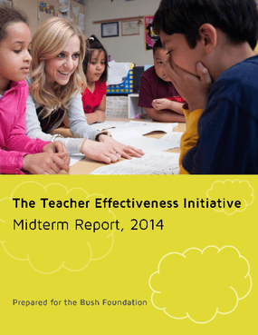 The Teacher Effectiveness Initiative Midterm Report, 2014