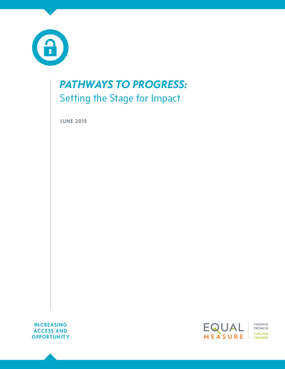 Pathways to Progress: Setting the Stage for Impact