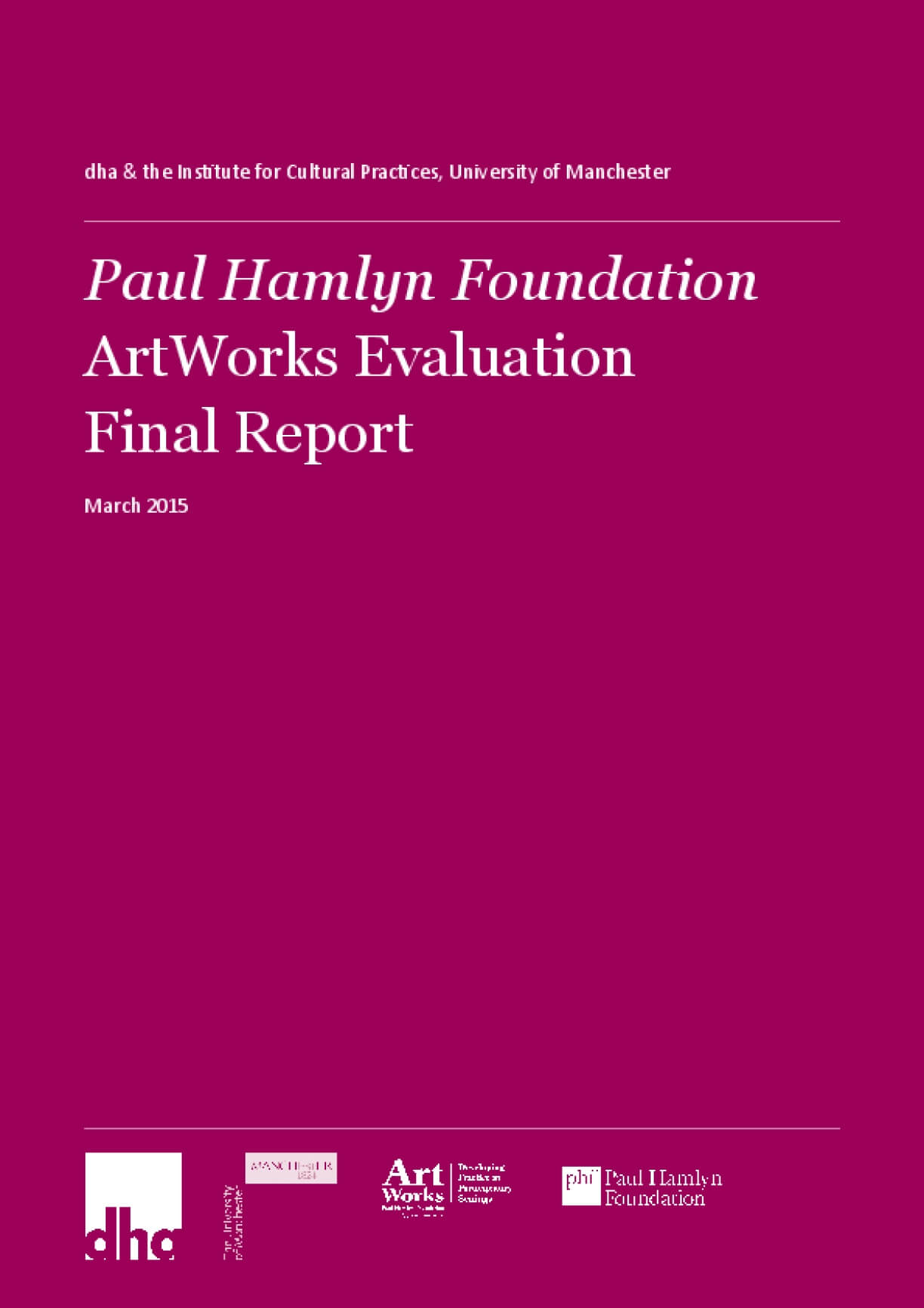 ArtWorks Evaluation Final Report