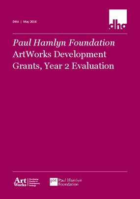 ArtWorks Development Grants, Year 2 Evaluation