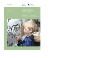 An Economic Analysis of Four-Year-Old Kindergarten in Wisconsin: Returns to the Education System