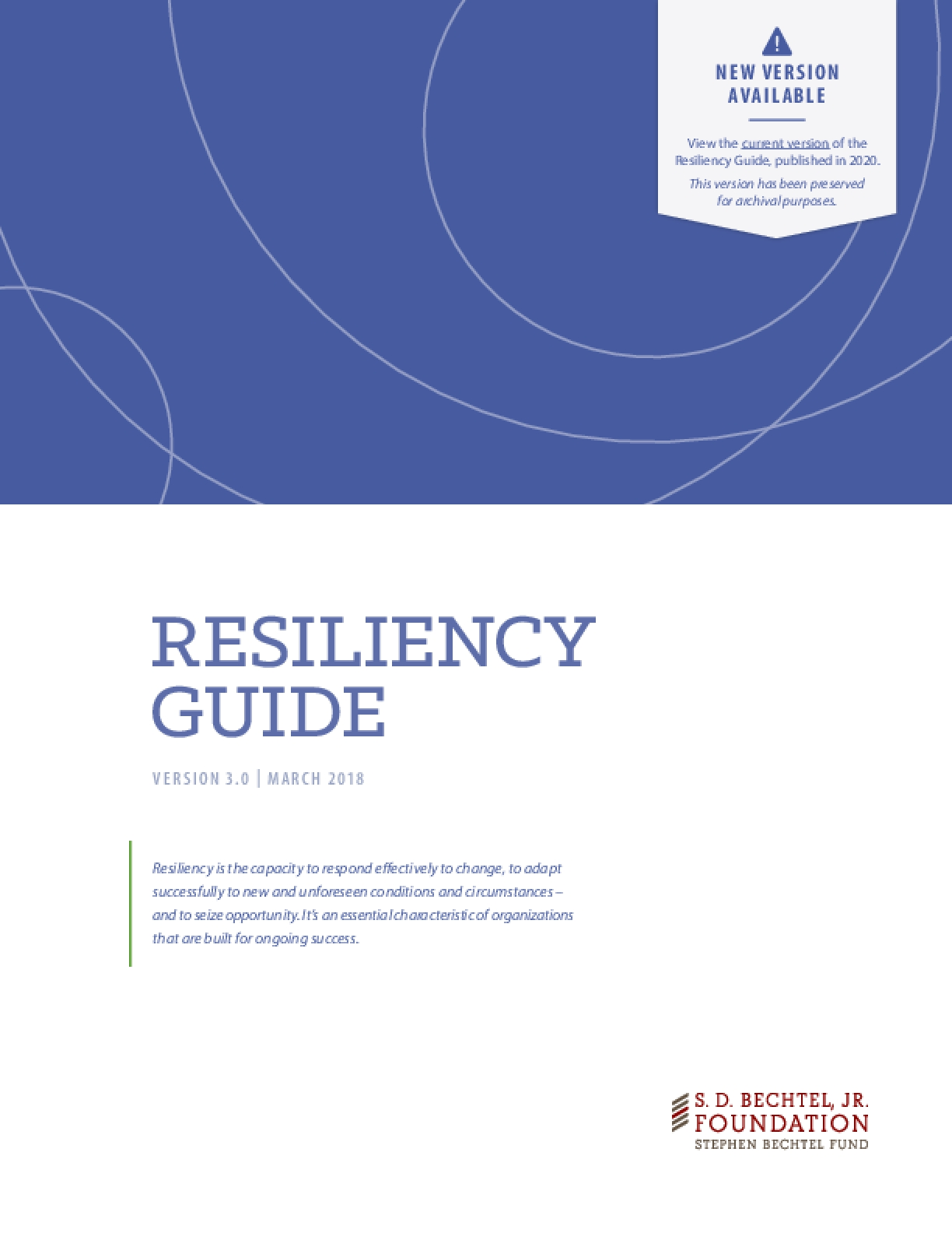 Resiliency Guide